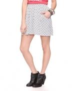 Heart print skirt like Lemons at Forever 21