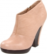 Cream booties like Zoes at Endless