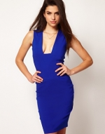 Blue bodycon dress like Blairs at Asos