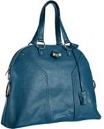 Blue oversized bag like Serenas at Bluefly