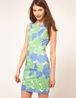 Blue floral dress like Blairs at Asos