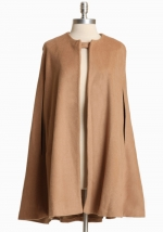 Beige cape like Serenas at Ruche