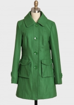 Green coat like Blairs at Ruche