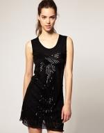 Black beaded dress like Blairs at Asos