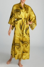 Blair's yellow rose robe at Natori