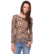 Longsleeve leopard print top like Serenas at Forever 21