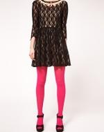 Pink tights like Blairs at Asos