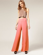 Coral pants like Lemons at Asos