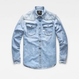 3301 Quilted Denim Shirt at G Star