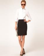 Black pencil skirt like Annies at Asos