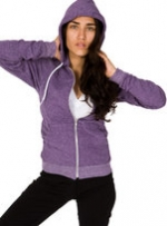 Purple hoodie like Annies at American Apparel