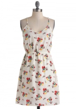 White floral dress like Annies at Modcloth