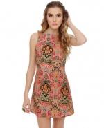 Patterned dress like Blairs at Lulus