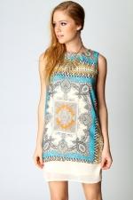 Printed shift dress like Blairs at Boohoo