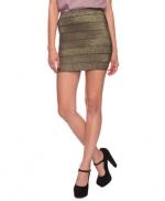 Metallic striped skirt like Serenas at Forever 21