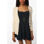 Cream cardigan like Serenas at Urban Outfitters
