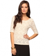 Lace top like Lemons at Forever 21