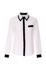 Contrast blouse like Zoes at Romwe