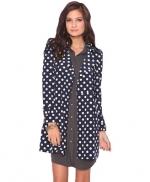 Polka dot coat like Zoes at Forever 21