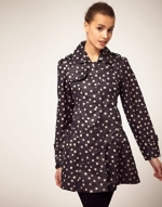 Spotty coat like Zoes at Asos