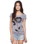 Grey floral top like Annies at Forever 21