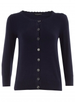 Navy blue cardigan like Annies at Dorothy Perkins