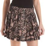 Serenas printed skirt at Barneys