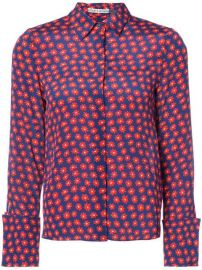 358 Alice Olivia Daisy Print Shirt - Buy Online - Fast Delivery  Price  Photo at Farfetch