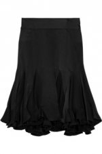 Blairs black flared skirt at Net A Porter
