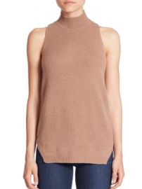 360 Cashmere - Logan Turtleneck Tank at Saks Fifth Avenue