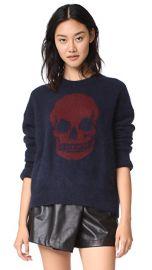 360 SWEATER Natalie Skull Sweater at Shopbop