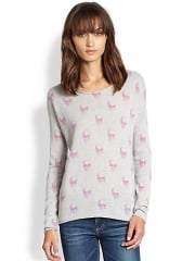 360 Sweater - Jack All-Over Skull Cashmere Sweater at Saks Fifth Avenue