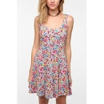 Floral dress at Urban Outfitters