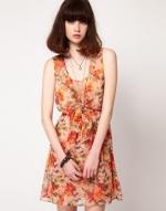 Floral dress at Asos