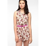 Floral romper like Magnolias at Urban Outfitters