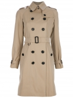 Burberry coat like Zoes at Farfetch
