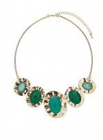 Green chunky necklace like Serenas at Dorothy Perkins