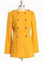 Yellow coat like Blairs at Ruche