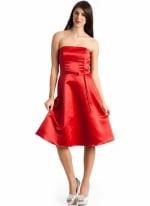 Strapless dress like Pennys at Go Jane