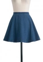 Denim skirt like Annies at Modcloth