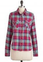 Plaid shirt like Annies at Modcloth