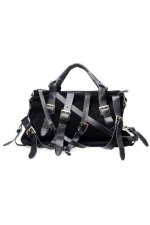 Black strappy bag like Zoe Harts at Romwe