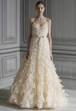 Lemon's wedding gown at Monique