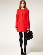 Red coat like Serenas at Asos