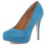 Blue heels like Serenas at Dorothy Perkins