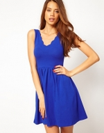 Cobalt blue dress like Serenas at Asos
