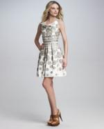 Blair's dot dress at Neiman Marcus