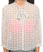 Annie's anchor print top at Forever 21