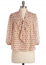 Printed blouse like Annies at Modcloth
