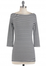 Striped top like Brittas at Modcloth
